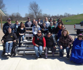 Miracle League of Grand Island and WNY Cleanup Day 2013